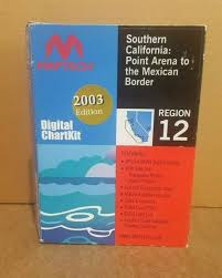 Socal Tide Chart Maptech Digital Chartkit Region 12 Socal Point Arena To The Mexican Border
