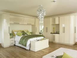 Contemporary Fitted Bedrooms Uk Gloss Bedroom Furniture With A Bridging Unit To Simple Design