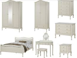 vintage chic bedroom furniture. Loire Shabby Chic Ivory Bedroom Furniture - Wardrobe, Chest, Bed, Dressing Table Vintage H