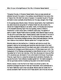 significance of the title a streetcar d desire a level   a street car d desire page 1 zoom in