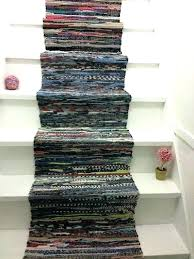 colorful runner rugs marvelous rag rug cotton co multi colored diy