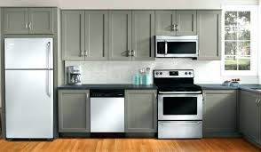 gray painted kitchen cabinets best gray paint