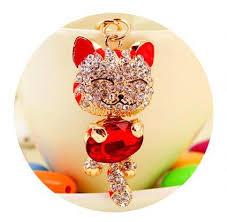 Купить Оптом Lucky Smile Cat <b>Брелок</b> Кристалл <b>Lucky Cat Брелки</b> ...