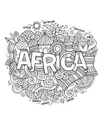Small Picture Free coloring page coloring adult africa abstract symbols Drawing