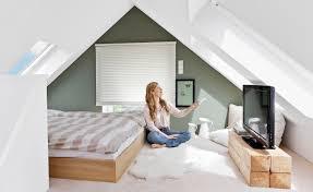Schlafzimmer Ideen Wandgestaltung Dachschrge Chef Auf Plus Wohnung