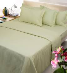 beige cotton satin 88 x 96 inch premium double bed duvet cover
