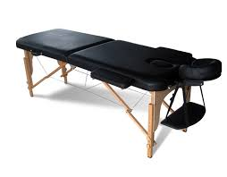 table massage. sentinel foxhunter portable folding massage table beauty salon tattoo therapy couch bed