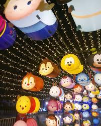 Disney Tsum Tsum Light Up The Largest Disney Tsum Tsum Lantern Installations At