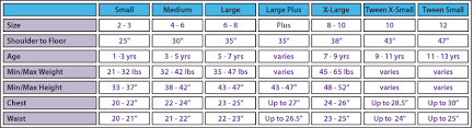 3 Year Old Clothing Size Chart Littledressupshop Com Boys And Girls Dress Up And Costume