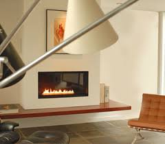 Spark Modern Fires Direct Vent Slim 46Inch Gas Fireplace Spark Fireplace