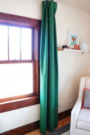diy dying curtains with rit dye