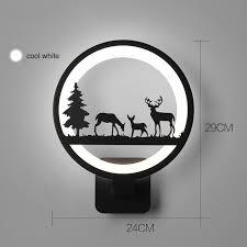 Online Shop <b>12W Black</b> Acrylic <b>Led</b> Wall Light For Living Room ...