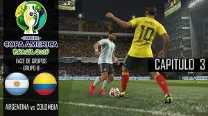 Argentina vs Colombia - Copa America ...