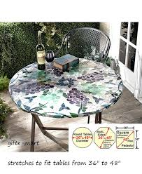 new patio table cloth and best dining room top outdoor tablecloths with the elegant round patio