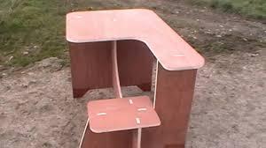 portable Shooting Bench - YouTube