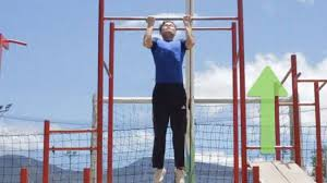 Iron Gym Pull Up Bar Workout Chart Pdf How To Do Pull Ups For Beginners 12 Steps With Pictures