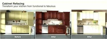 Average Cost To Reface Kitchen Cabinets Delectable Home Depot Cabinet Refacing Cost Estherlico