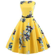 <b>Yellow</b> Dinner <b>Party</b> Dresses Women <b>Summer Elegant</b> Beach Midi ...