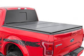 Soft tri-fold bed covers / tonneau covers | Rough Country Suspension ...