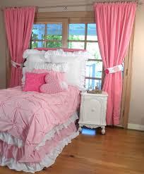 Little Girls Pink Bedroom Pink Curtains For Little Girls Bedroom