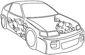 Printable Race Car Coloring Pages Coloringmecom