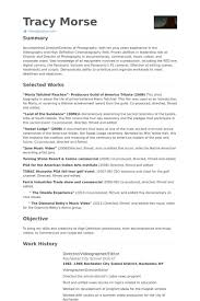 Videographer Resume Videographer Resume Freelance Template Videography Examples