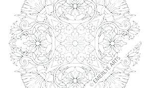 Free Printable Flower Coloring Pages For Adults Hawaiian Flower