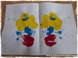 Les arts plastiques sont le regroupement de toutes les pratiques ou activités donnant une représentation artistique, esthétique ou poétique, au travers de formes et de volumes. La Peinture Symetrique Un Jeu Monstrueusement Drole La Cour Des Petits