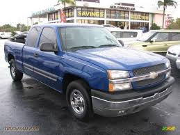 2004 Chevrolet Silverado 1500 LS Extended Cab in Arrival Blue ...