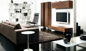 modern living room furniture ideas. Furniture: Fascinating Apartment With Simple Shelf And Black Flooring Under Small Room Furniture Ideas - Modern Living G