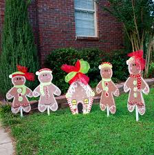decor outdoor gingerbread house decorations decorating idea