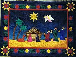 The 17 best images about Nativity Quilts on Pinterest | Quilt ... & Royal Nativity Applique Christmas Quilt Pattern by Sagebud Designs and  Coral Love at Creative Quilt Kits Adamdwight.com