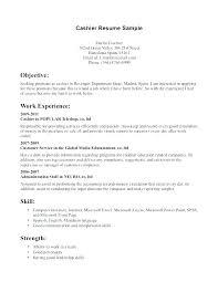 Cashiers Job Description For Resume Skinalluremedspa Com
