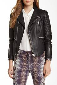 image of walter baker mindy leather jacket