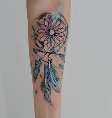Tatouage Attrape Rêve Water Color Tetování Tetování Křídel