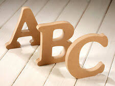 height 8cm standing wood letter white wooden letters for decorations wedding decorations home brithday gift