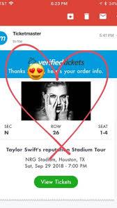 Ticketmaster Taylor Swift Seating Chart Taylor Swift Verified Fan Tumblr