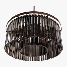 drum shade chandelier bronze shades black lighting light crystal mini archived on lighting with post