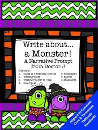 halloween monster writing prompt narrative essay common core tn halloween monster writing prompt narrative essay common core tn ready aligned