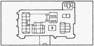 geo prizm (1990 1995) fuse box diagram auto genius 1990 geo metro fuse box diagram geo prizm fuse box passenger side kick panel