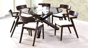 round dining table for 6. Perfect For Round Glass Dining Table For 6  Home Inside Round Dining Table For D