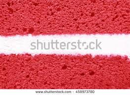 red velvet cake texture. Strawberry Cake With White Center Filling Texture Red Velvet V