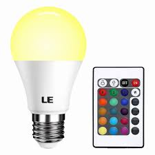 natural light bulbs for office. Natural Light Lamps For Office Elegant Le Dimmable A19 E26 Led Bulb 6w Rgb 16 Bulbs