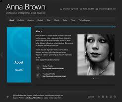 Resume Website Resume Website Template Cv Curriculum Vitae Online