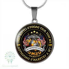 im not just daddys litte girl im a veterans daughter proud daughter of a marine corps veteran