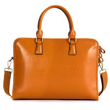 kattee kattee women s leather briefcase messenger bag 14 laptop handbag com