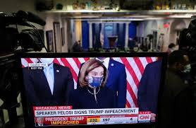 Палата представителей США второй раз проголосовала за импичмент Трампа -  RU.DELFI