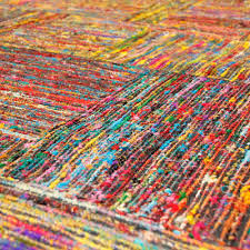 what are sari silk rugs