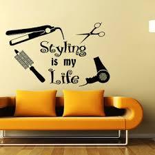 hair salon beauty salon barber hairdressing salon wall decal vinyl sticker wall de