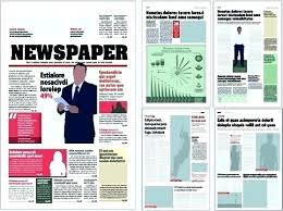 Newspaper Template Indesign Adobe Indesign Newspaper Template Free Illustrator Voipersracing Co